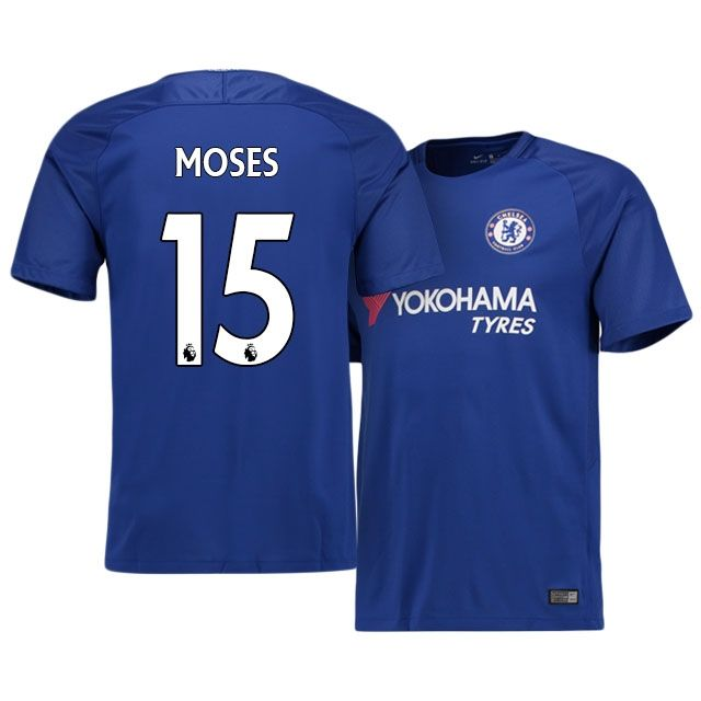 17-18 Chelsea Home Shirt victor moses