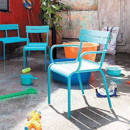 Luxembourg Stacking Child S Chair By Fermob At Lumens Com Kids Chairs Kids Bench Fermob