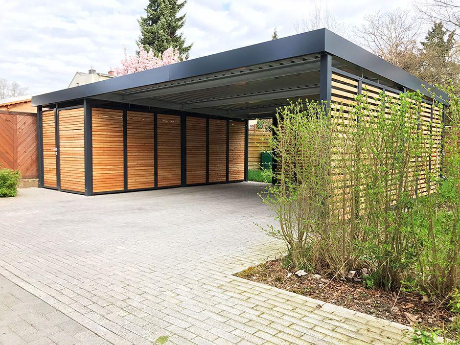 doppelcarports carceffo moderne carports garagen carport pinterest refuges abri. Black Bedroom Furniture Sets. Home Design Ideas