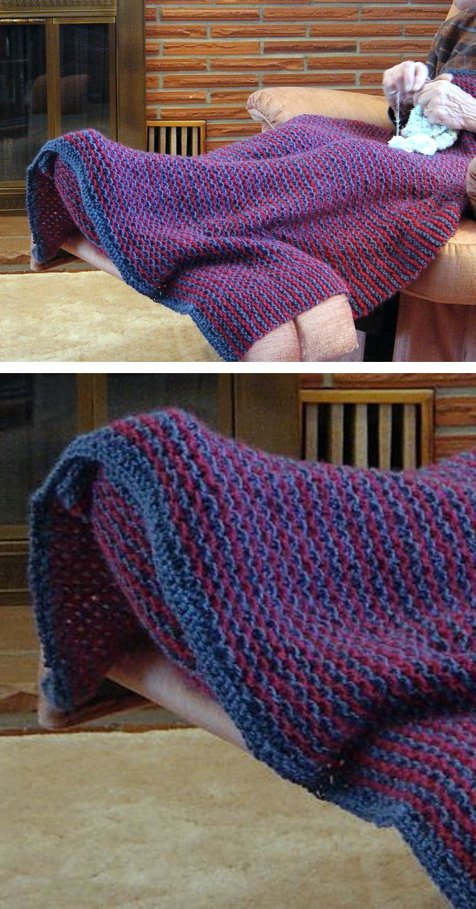 Knitting Pattern Icicle Toes Lap Wrap With Toe Pocket - This afghan ...