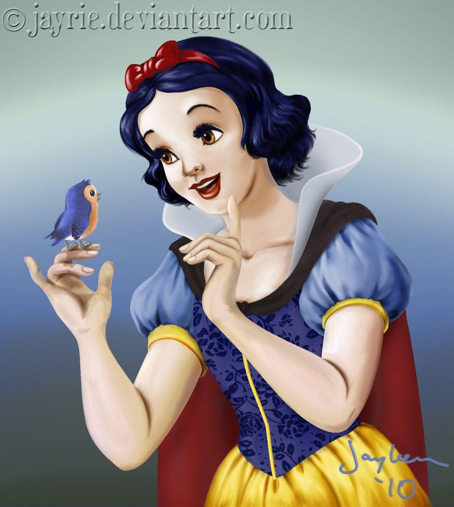 Snow White by Jayrie.deviantart.com