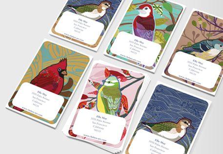Sticky business cards illustration inspiration board pinterest sticky business cards colourmoves