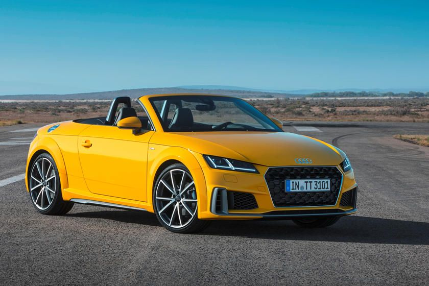 2020 Audi Tt Roadster Front Angle View Photo In 2020 Audi Tt Audi Tt Roadster Audi Convertible