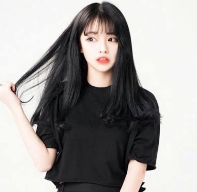 See Through Bangs Korean Pinte