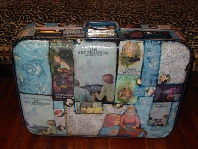 Nancy Drew Suitcase - possible craft idea for K's party?  Maybe not a suitcase, but a book?