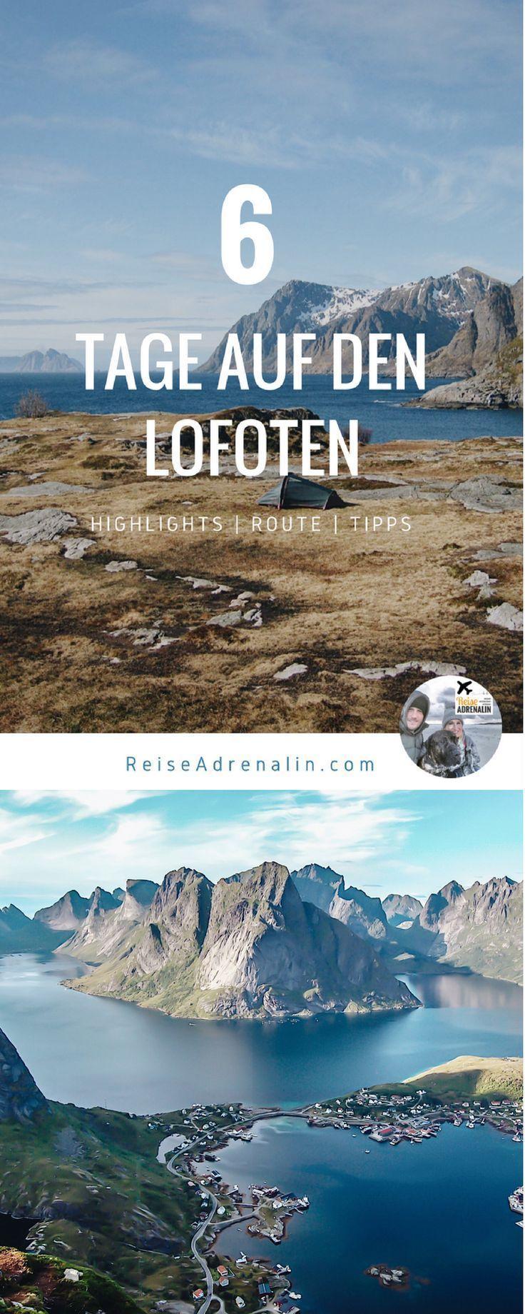 Reiseguide Nordnorwegen: von den Lofoten bis zum Nordkapp- Teil 1: Die Lofoten #aroundtheworldtrips