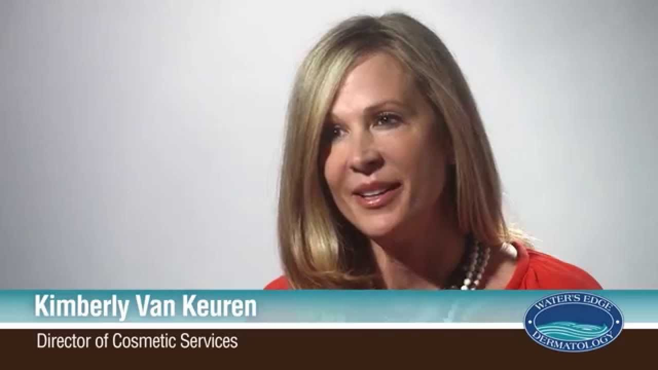 At Water's Edge Dermatology, practitioners do even more for their patients than treat skin conditions. We help our patients fall in love with their skin and keep it healthy. Kimberly Van Keuren, director of cosmetic services, discusses how she works with patients to provide beautiful results.