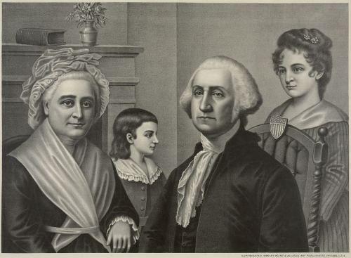 Martha Washington was a widow with four small children when she ...