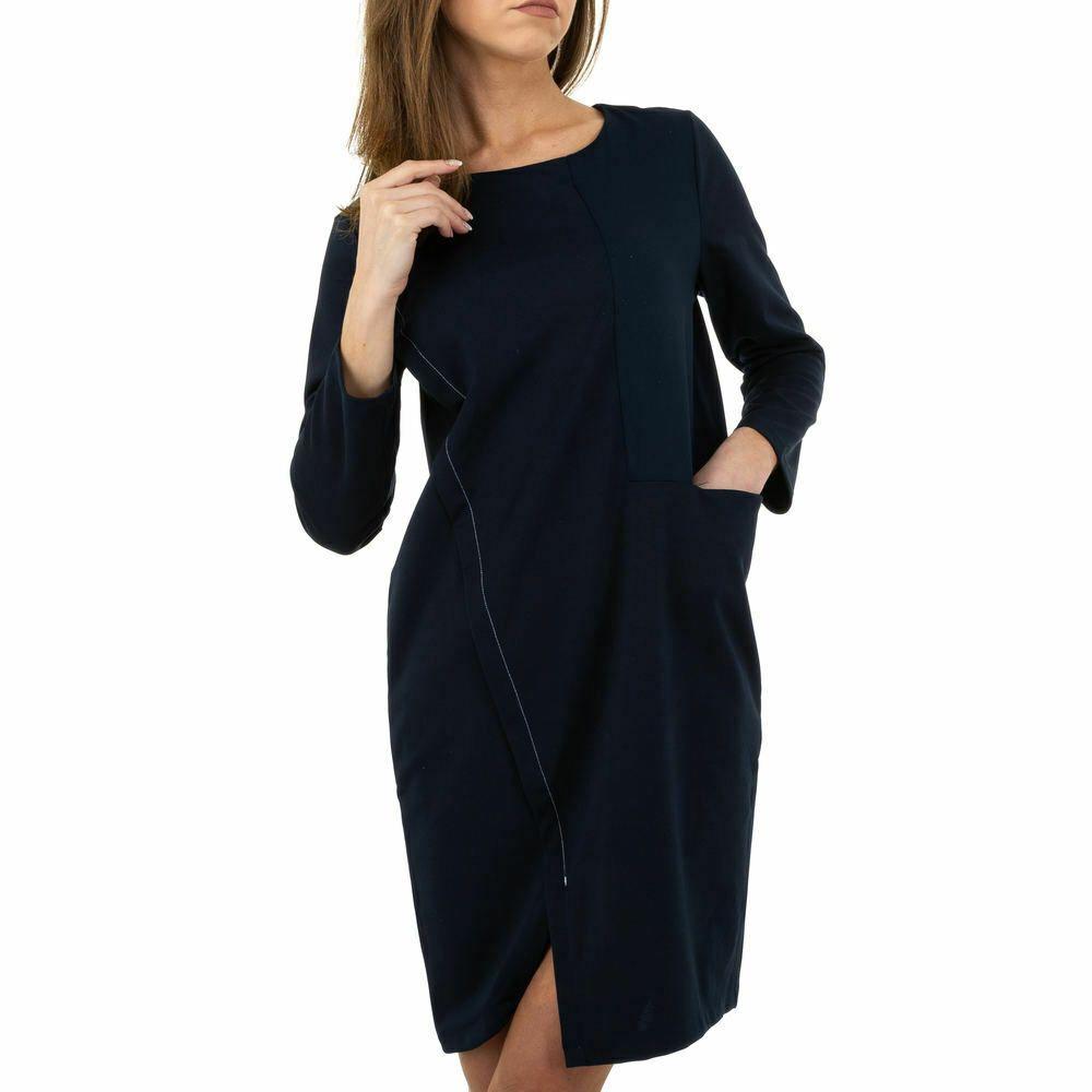 elegantes damen kleid s/m dunkelblau 8477 in 2020 | elegante