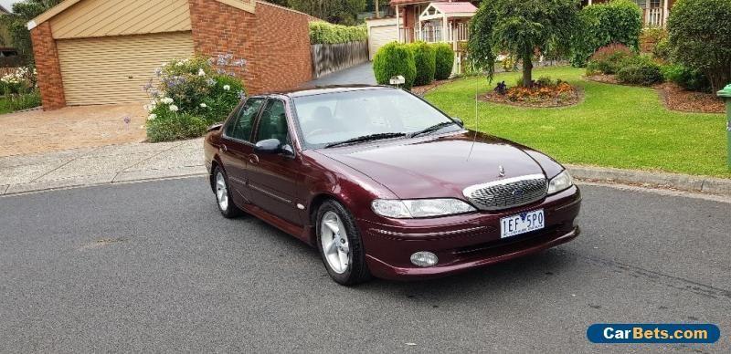 1997 V8 El Ford Fairmont Ghia Not Ea Eb Ed Ef Au Xr6 Xr8 Falcon