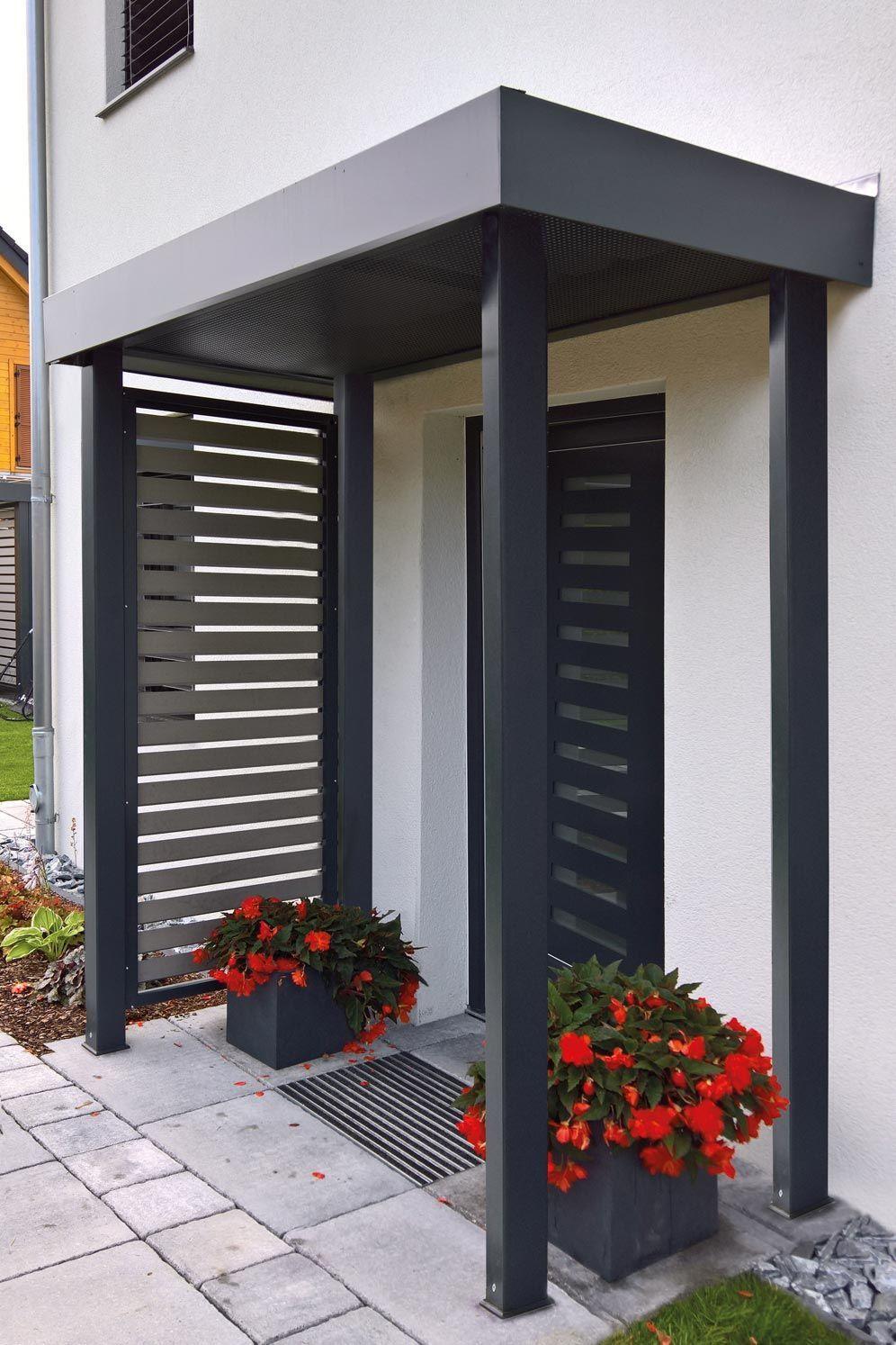 Bei Siebau erhalten Sie maßgefertigte Vordächer / Eingangsüberdachungen für