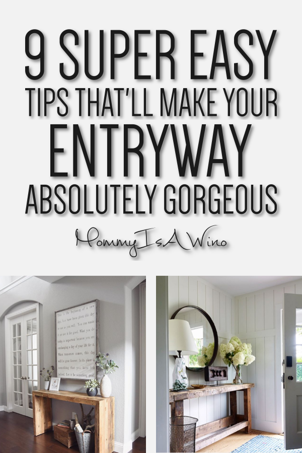 Entryway Table Ideas - Entryway Decor Ideas - Entryway ideas - 9 Super Easy Tips That'll Make Your Entryway Absolutely Gorgeous #entryway #decor #homedecor #decorideas #moderndecor #farmhousedecor #rusticdecor #farmhouse #rustic #modern #boho #bohemian
