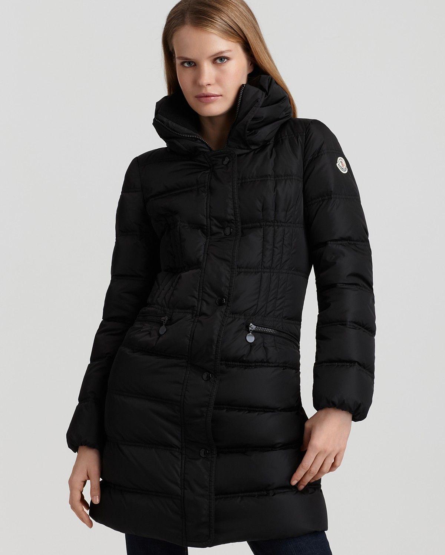 Moncler vos threequarter length down coat women