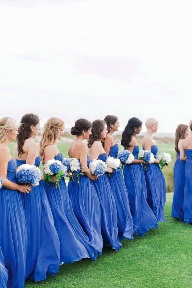 Azul Vestidos Rey Wedding Bridesmaids Wedding Bridesmaids Dresses Blue Periwinkle Wedding