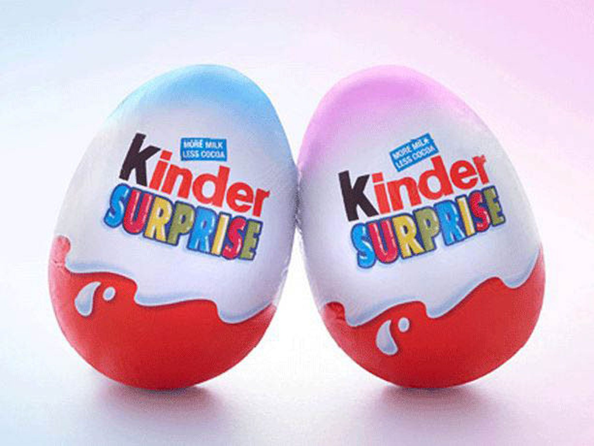 Kinder joy toys car  Kinder Surprise in stereotyping row over pink and blue eggs  Funny