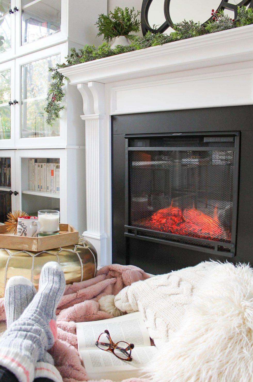 How To Make An Electric Fireplace Look Real