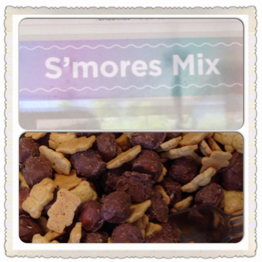 New topping at Yogurtland: S'Mores mix