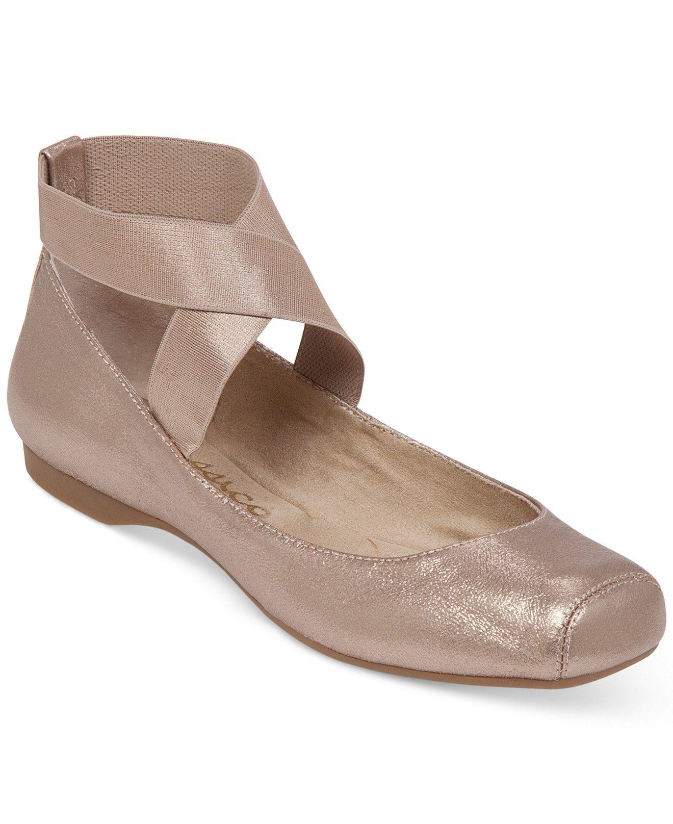 fd102ec83643 Jessica Simpson Mandalaye Elastic Ballet Flats - Flats - Shoes - Macy's