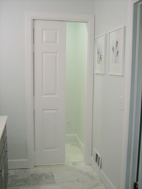Pocket Door To Separate Toilet From Rest Of Bathroom