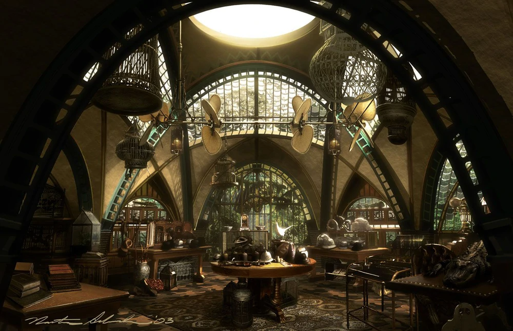 Monty Montgomery S House At The Lemony Snicket Wiki In 2020 Concept Art A Series Of Unfortunate Events Concept Art Drawing