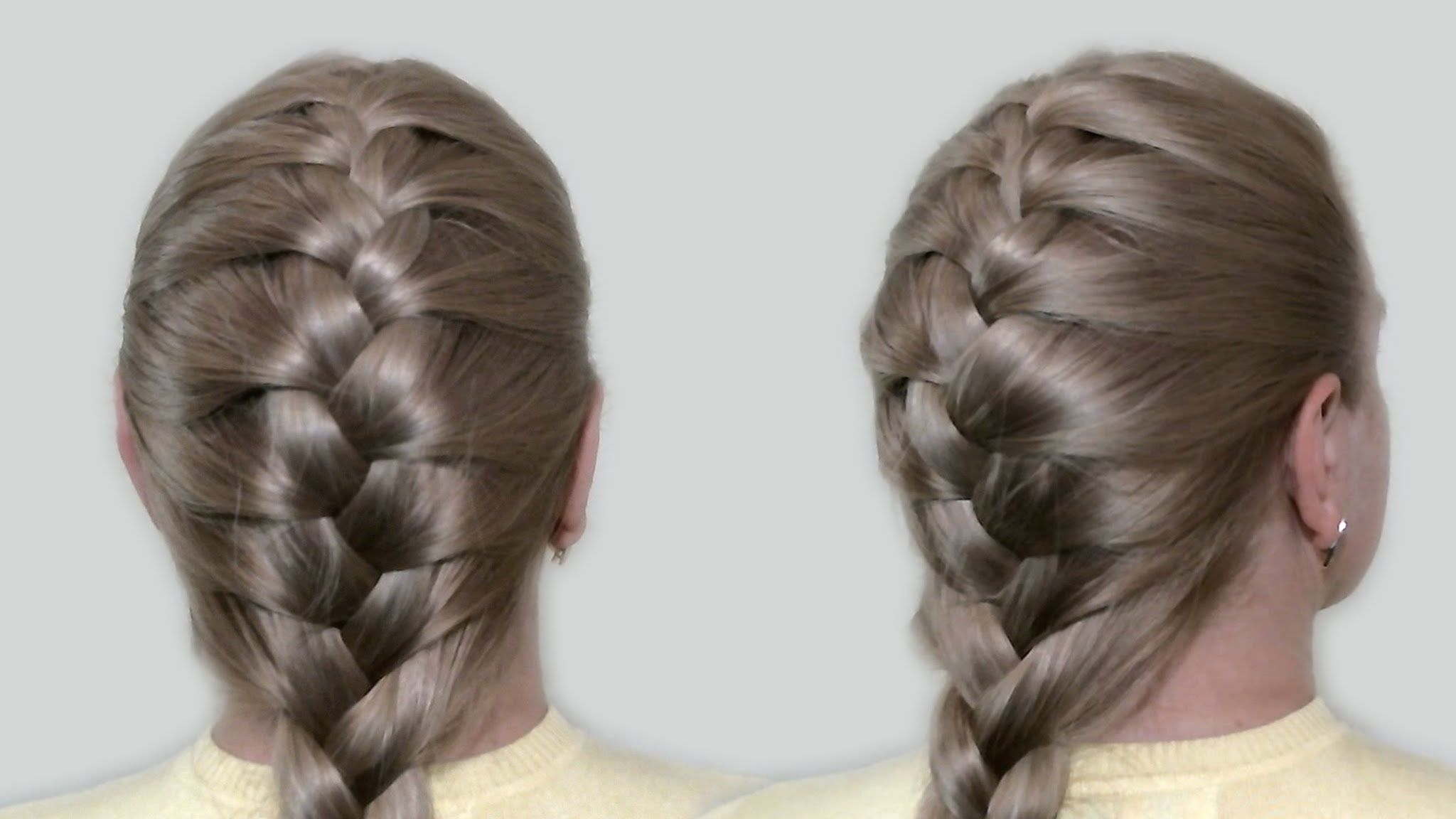 Classic french braid by yourself tutorial hairstyles for medium classic french braid by yourself tutorial hairstyles for medium long hair easy ponytail hairstyleshairstyles videoshow solutioingenieria Image collections