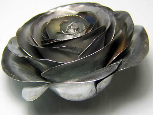 How To Make A Metal Rose