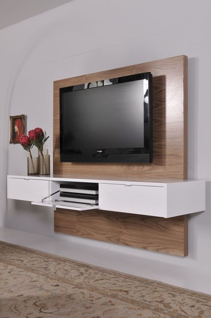 ode2u floating tv unit product gallery contemporary industrial decorating pinterest. Black Bedroom Furniture Sets. Home Design Ideas