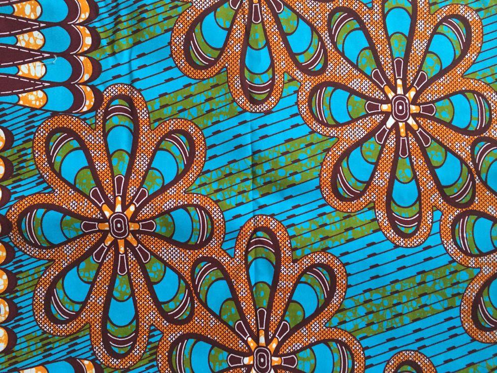pagne wax 99 veritable block prints super chiganvy wax tissu africain tissus habillement. Black Bedroom Furniture Sets. Home Design Ideas