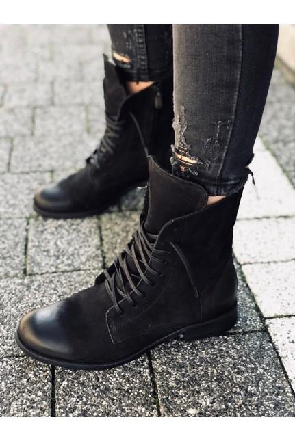Bestseller Ocieplane Workery K Rusin Basic Czarne Skora Naturalna Polska Produkcja Boots Combat Boots Shoes