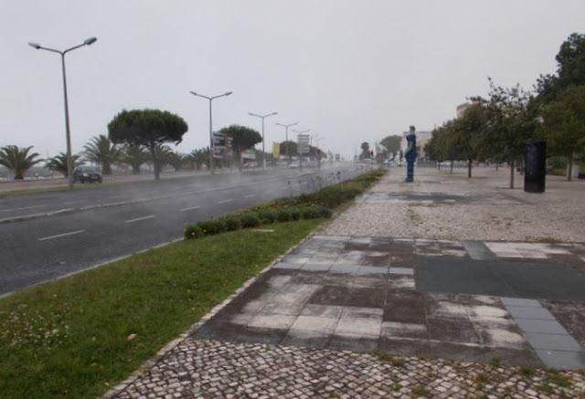 O Palhetas na Foz: Quando chove e o alcatrão está quente…