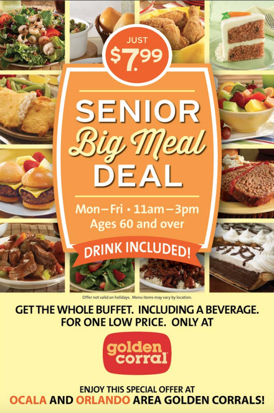 Golden Corral Plant Based Diet Plan Big Meals Meal Deal