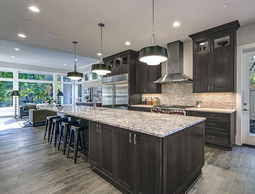 Pin By Masterbrand Cabinets On Home Remodeling Tips Kitchen Remodel Small Stained Kitchen Cabinets Kitchen Remodel Layout
