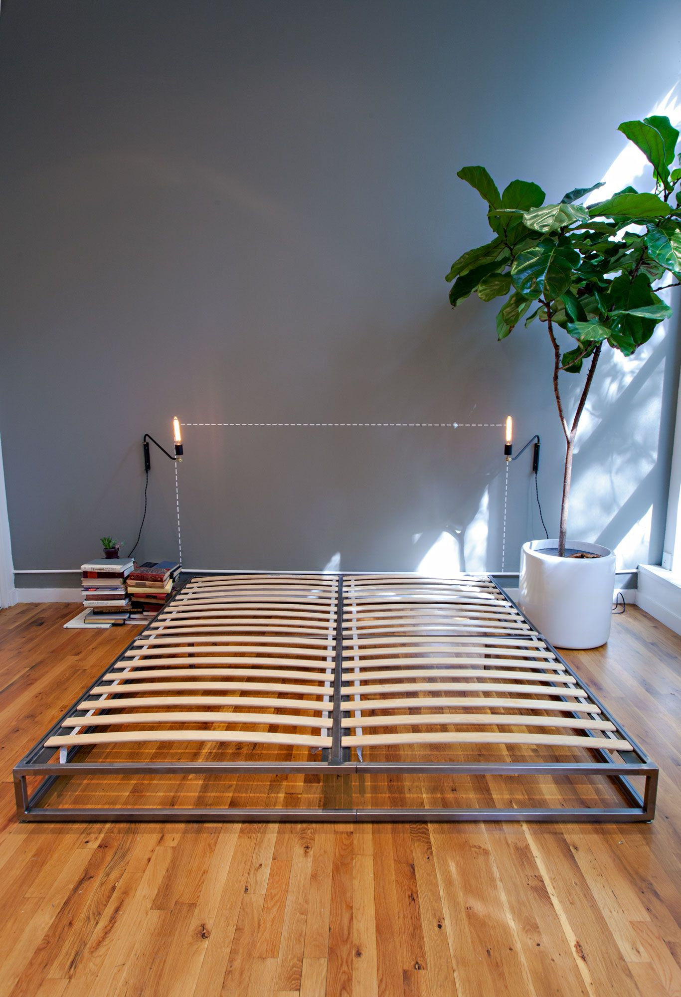Platform Style Bed Frame, Twin/Full/Queen/King   Gemelo, Plataforma ...