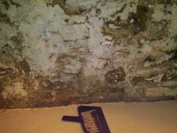 Fixing The Unfinished Crumbling Basement Wall Old Basement Basement Walls Cheap Basement Remodel