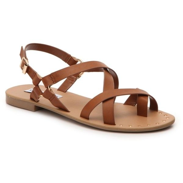 1c4511d9c61 Steve Madden Kriista Flat Sandal ( 50) ❤ liked on Polyvore featuring shoes
