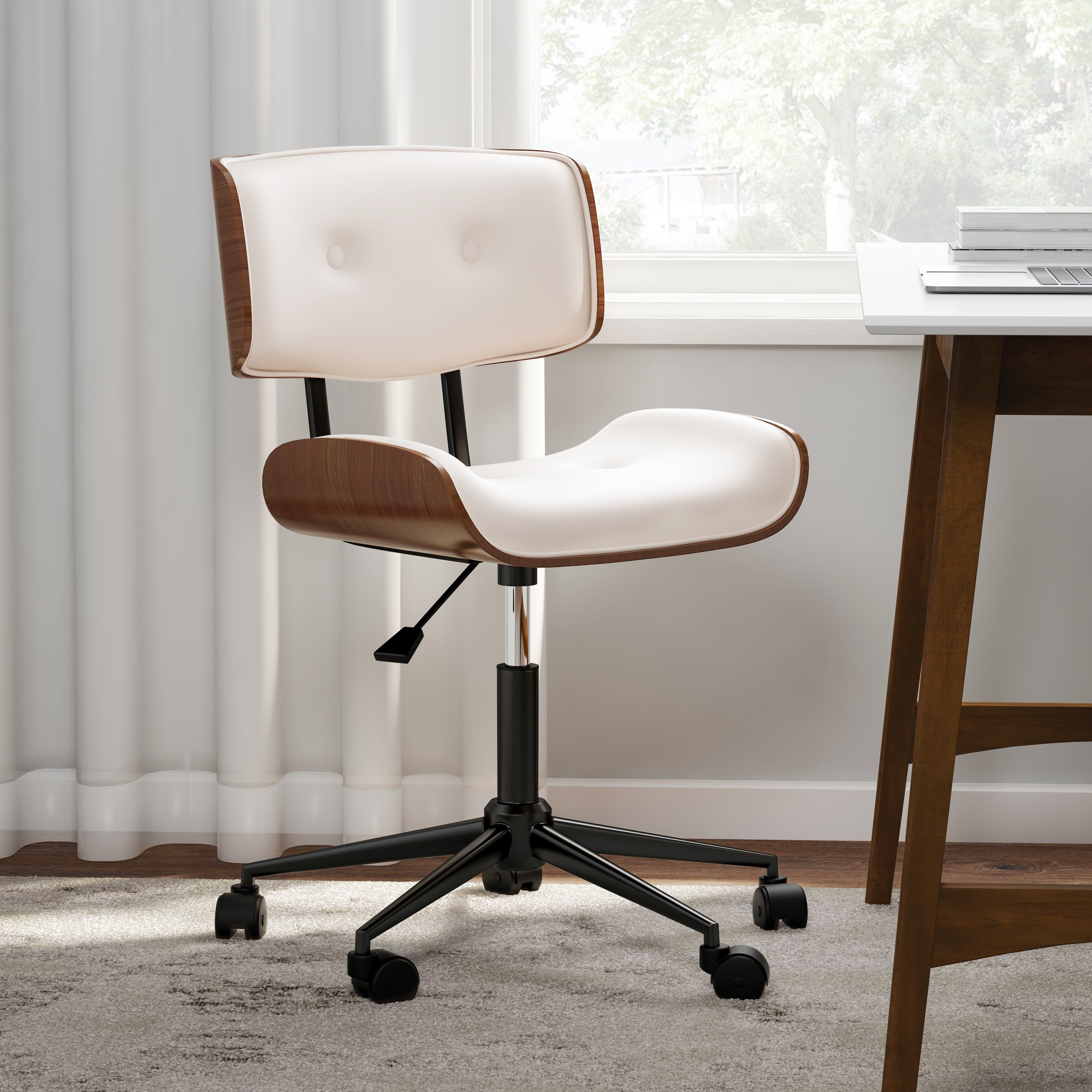 Overstock Com Online Shopping Bedding Furniture Electronics Jewelry Clothing More Mid Century Modern Office Chair Modern Office Chair Mid Century Modern Office