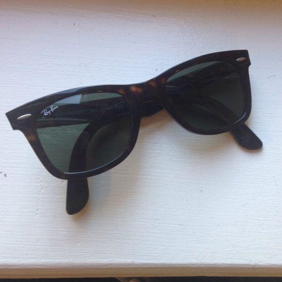 7f264c6e373 Conditioning · Ray Ban wayfarer sunglasses Gorgeous tortoise shell ...