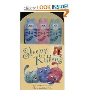 Despicable Me Sleepy Kittens Book Sleepy Kitten Kittens Sleepy Cat