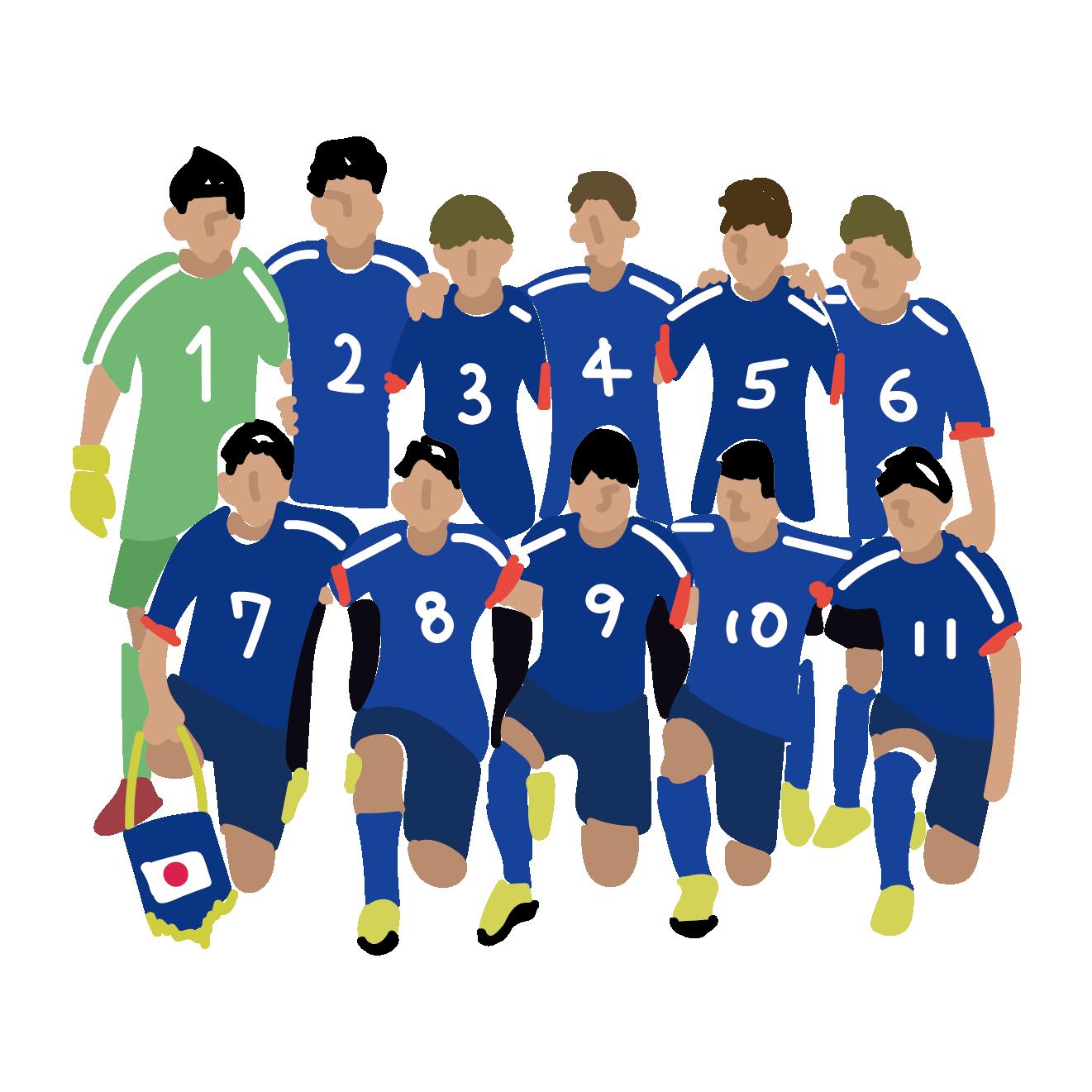 100枚以上のおすすめ画像 サッカー 無料 イラスト 画像あり