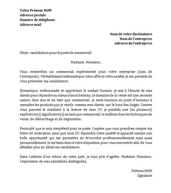 12 lettre de motivation secretaire administrative