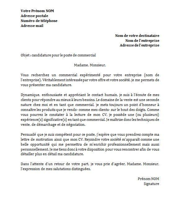 12 lettre de motivation secretaire administrative