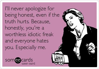 Hahaha! The truth hurts!