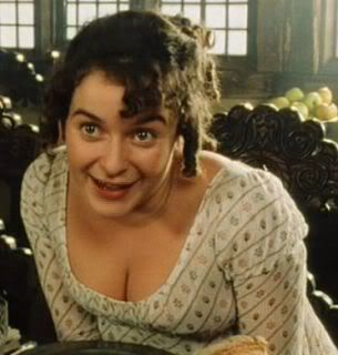 Pin By Jeannine Cleary On Regency Period Pride And Prejudice Pride And Prejudice Characters Julia Sawalha