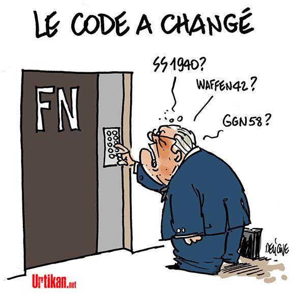 Exclusion Du Fn Mascarade Dit Jean Marie Le Pen Urtikan Net Humour Politique Humour Trop Drole