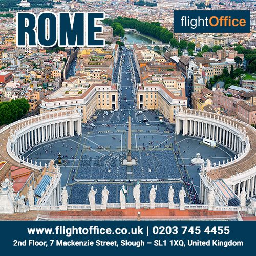 Find cheap flights to Rome with flightoffice.co.uk. The