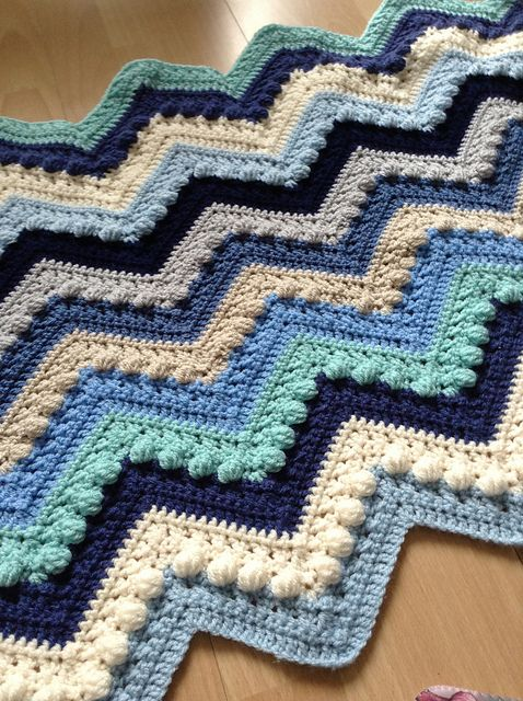 Hugs Kisses Baby Blanket Love This 3d Effect Crocheting