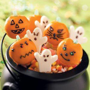 Lollipop Ghosts Recipe from Taste of Home