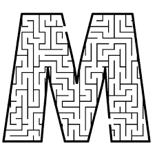 Letter M to print - Google Search