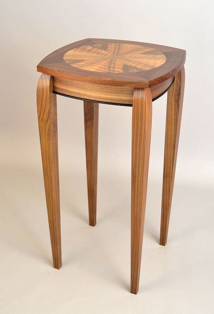 French walnut lamp table richard haver furnituremaker accent french walnut lamp table richard haver furnituremaker aloadofball Images