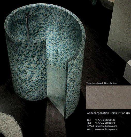 Snail Shower Design Ideas: Bathroom, Aah Bathrooms Rock! In 2019